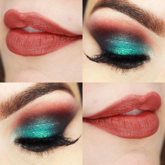 Tutorial – maquiagem colorida com o batom Marronli da quem disse, berenice?