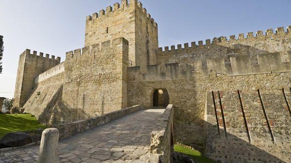 Castle of São Jorge: Lisbon, Portugal