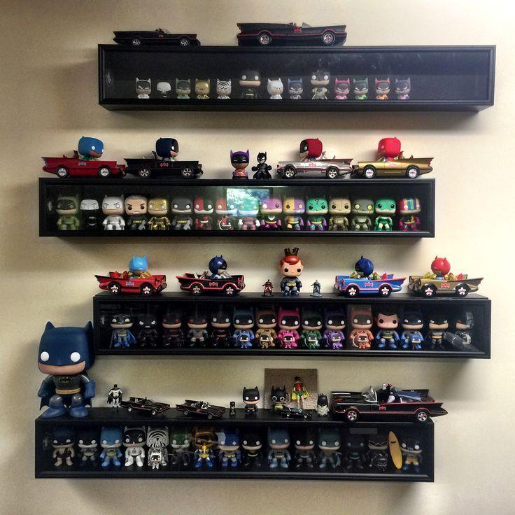 Batman funko pop display funko pop display pop display