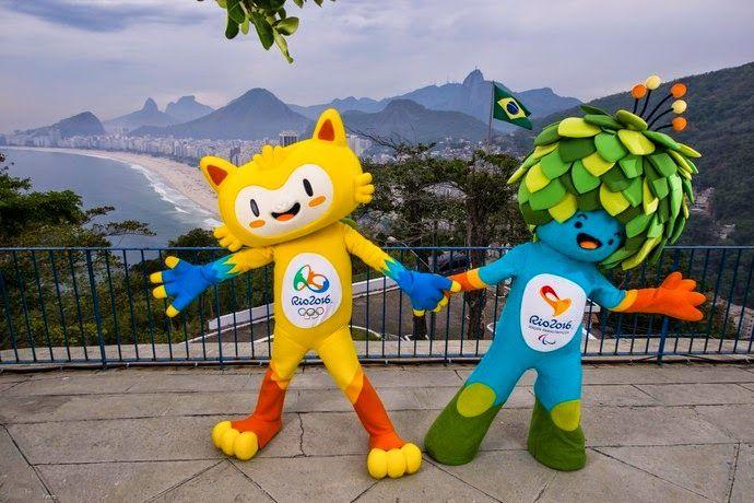 Blog Esportivo do Suíço: Vinícius e Tom são os nomes escolhidos para os mascotes de 2016