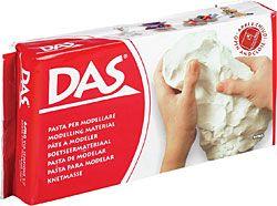 Modelovacia hmota DAS - BIELA - 1kg