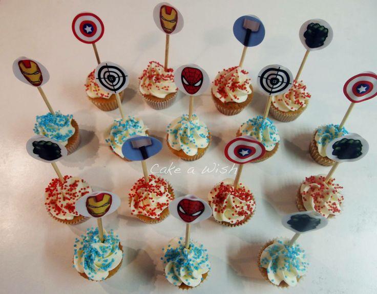 #marvel #cupcakes