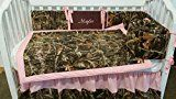 3 piece Max 4D or Max5D Duck Camouflage Crib Baby Bedding set Handmade Custom to order Embroidered personalized