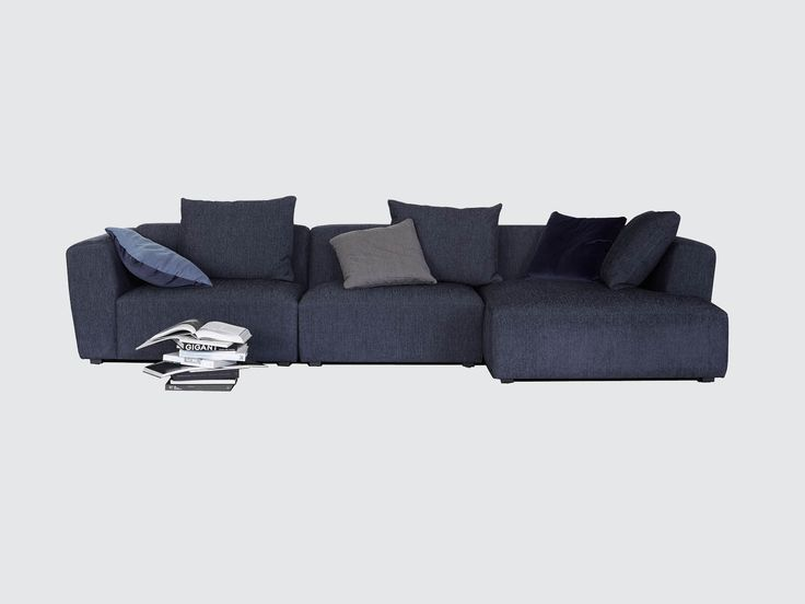 Domino Modular Sofa, contemporary model designed to attract with its youthful and elegant style. Designed by Danish designer Christian da Silva Wendelbo. Domino is finished with feather cushions for ultimate comfort. #Wendelbo #dawsonandco