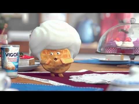 Requeijão Vigor l Waffle - YouTube