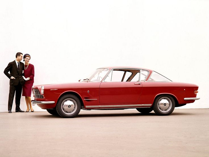 Fiat 2300 Coupe promo (1961) Body design by Ghia.