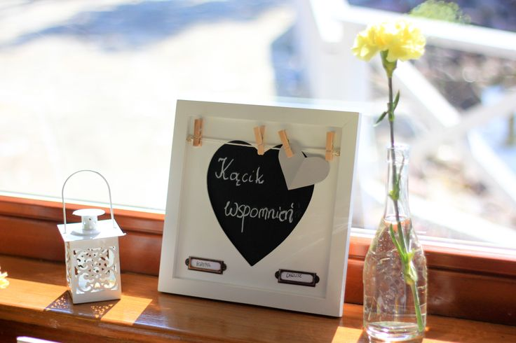 Dla Bożeny i Dariusza przygotowaliśmy niespodziankę, kącik wspomnień ze zdjęciami ślubny sprzed 25 lat ;) | www.slubnawzorcownia.blogspot.com