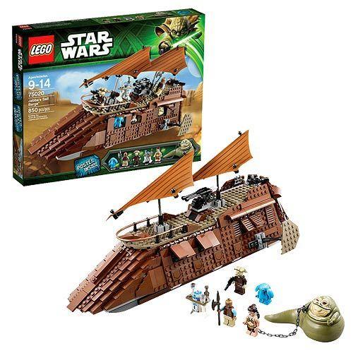 lego star wars 75020 jabbas sail barge lego star wars construction toys at