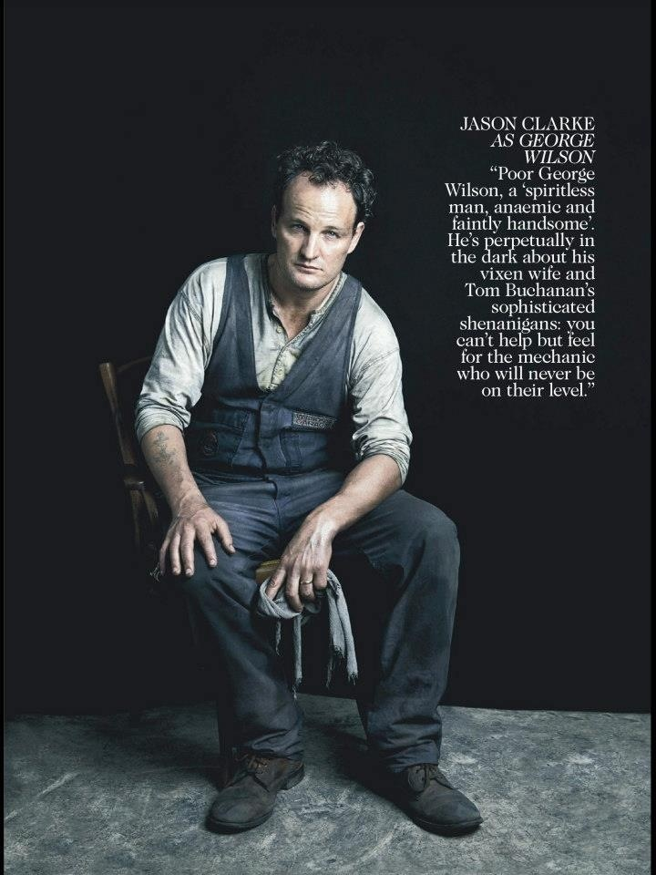 The Great Gatsby (2013)   Style stakes from the May 2013 issue of Australian Vogue: Jason Clarke (George Wilson).