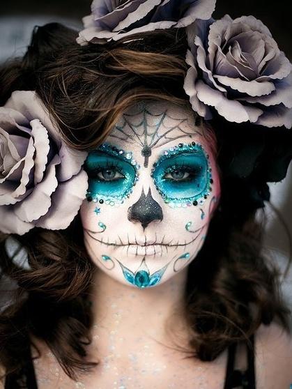 Amazing face painting.