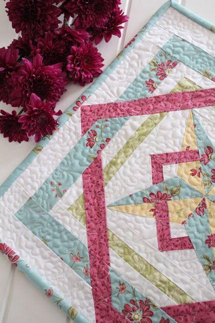 Threadbare Creations- Weave Mini Quilt