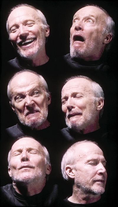 Emotions_ face expresion_Bill Viola