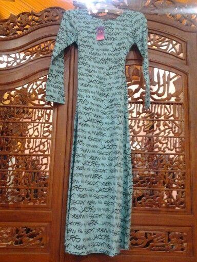 Ready jambi!!! Minty marc jacobs by IONplus Gamis dg karet d bag belakang Bahan katun Allsize fit L Tidak busui friendly 150.000