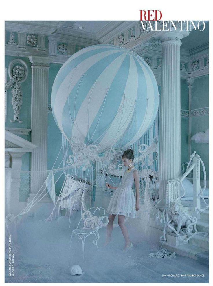 RED Valentino Spring 2013 Ad Campaign Shot by Tim Walker with Set Design by Shona Heath