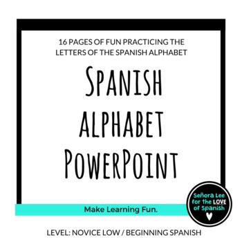 35 best Spanish Alphabet El Alfabeto Español images on Pinterest - spanish alphabet chart