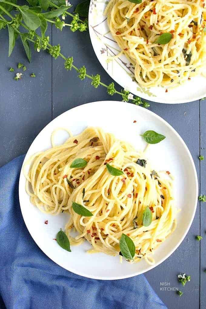 Creamy Pasta Sauce Without Cream Video Nish Kitchen In 2020 Creamy Pasta Sauce Creamy Pasta Creamy Chicken Pasta Recipes