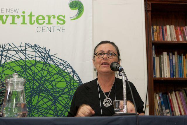 Monica Attard speaking at the NSW Writers' Centre Creative Non Fiction Festival November 2013