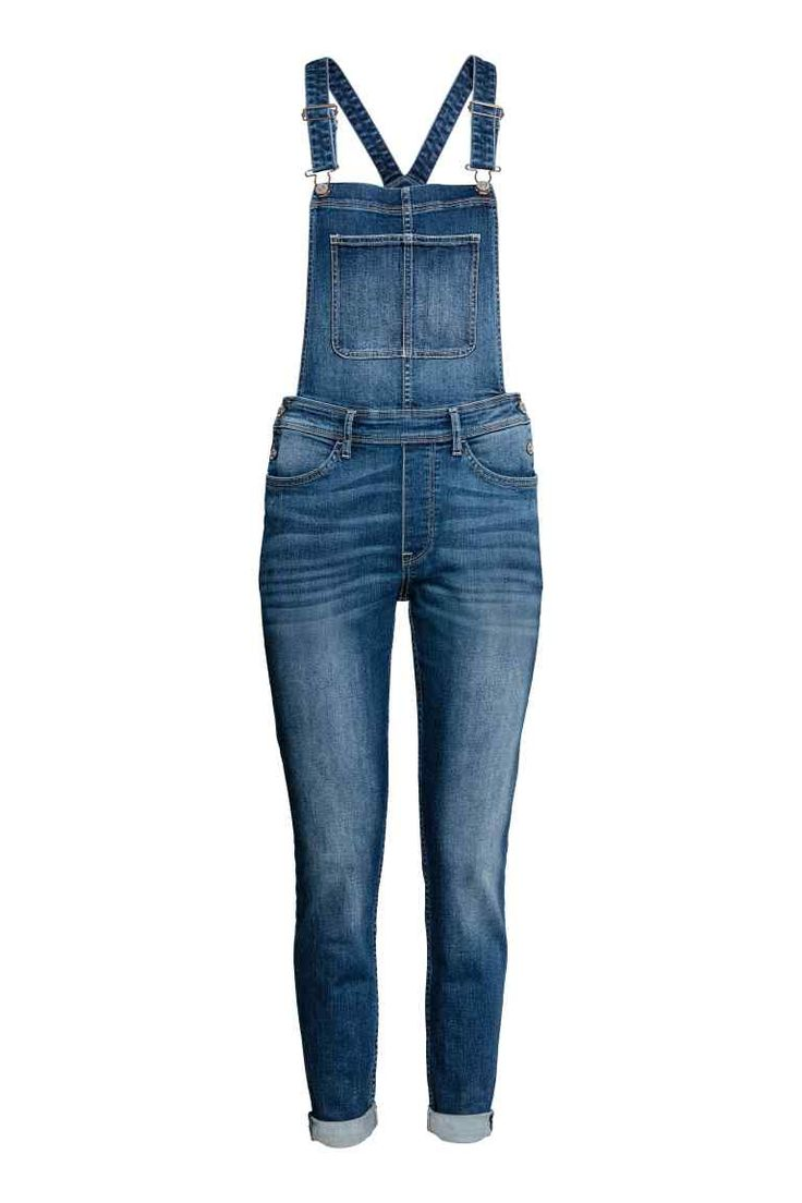 Jardineiras em ganga (azul denim escuro): H&M (29,99€)