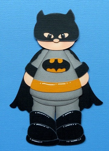 Batman (Scrapbook Paper Piecings)