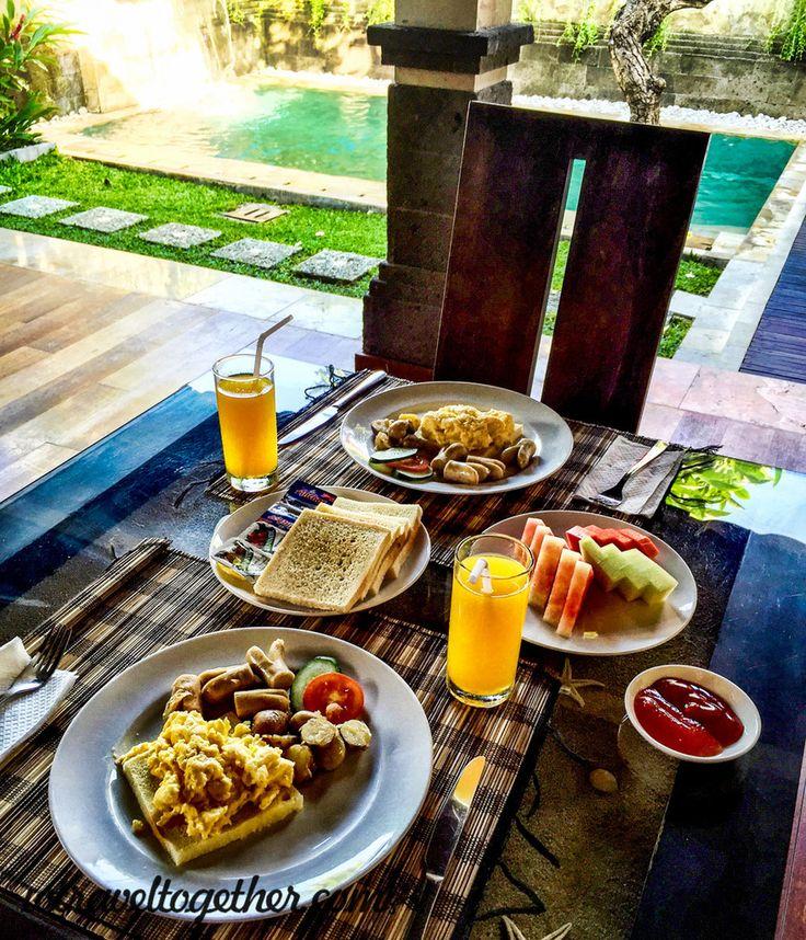 Breakfast - Bali Prime Villas - We Travel Together