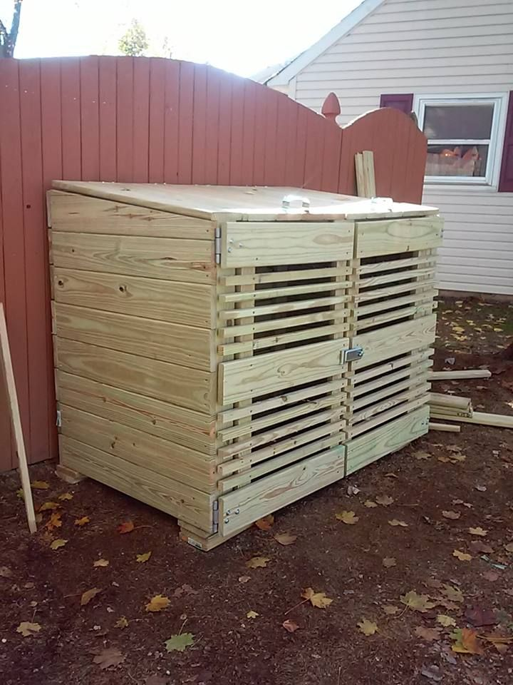 1000 Images About Garbage Can Shed On Pinterest: 1000+ Images About Best Trash Can Storage Sheds On