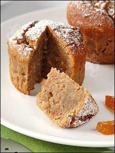 Moelleux à la crème de marrons, amande & écorces d'orange confite - Pour 6, format muffin : - 300 gr de crème de marrons - 120 gr de poudre d'amande - 50 gr de beurre fondu - 40 gr d'écorces d'orange confite - 2 œufs Préchauffer le four à 160°C. 23/02/2012