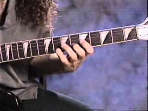 Marty Friedman Guitar Lesson - YouTube