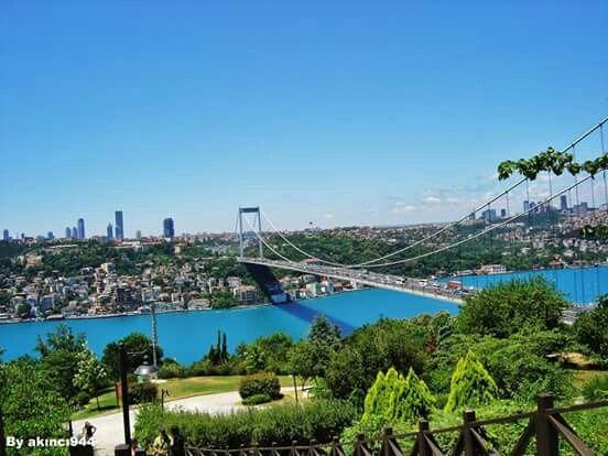 #istanbulBoğaz köprüsü#Türkiye#