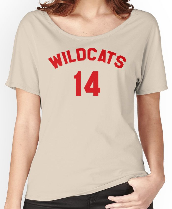 High School Musical: Wildcats Red Women's Relaxed Fit T-Shirts