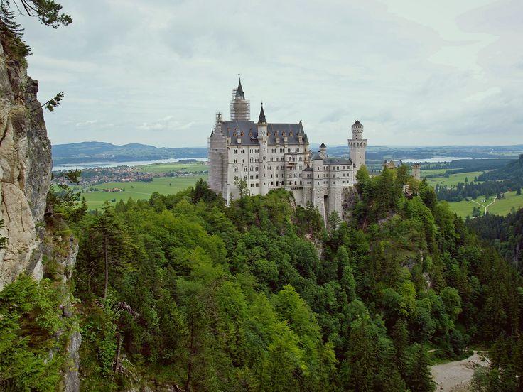 Château de Neuschwanstein en Allemagne