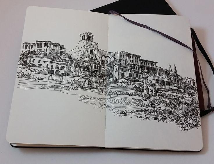 çeşme, reisdere, sketch for a project.