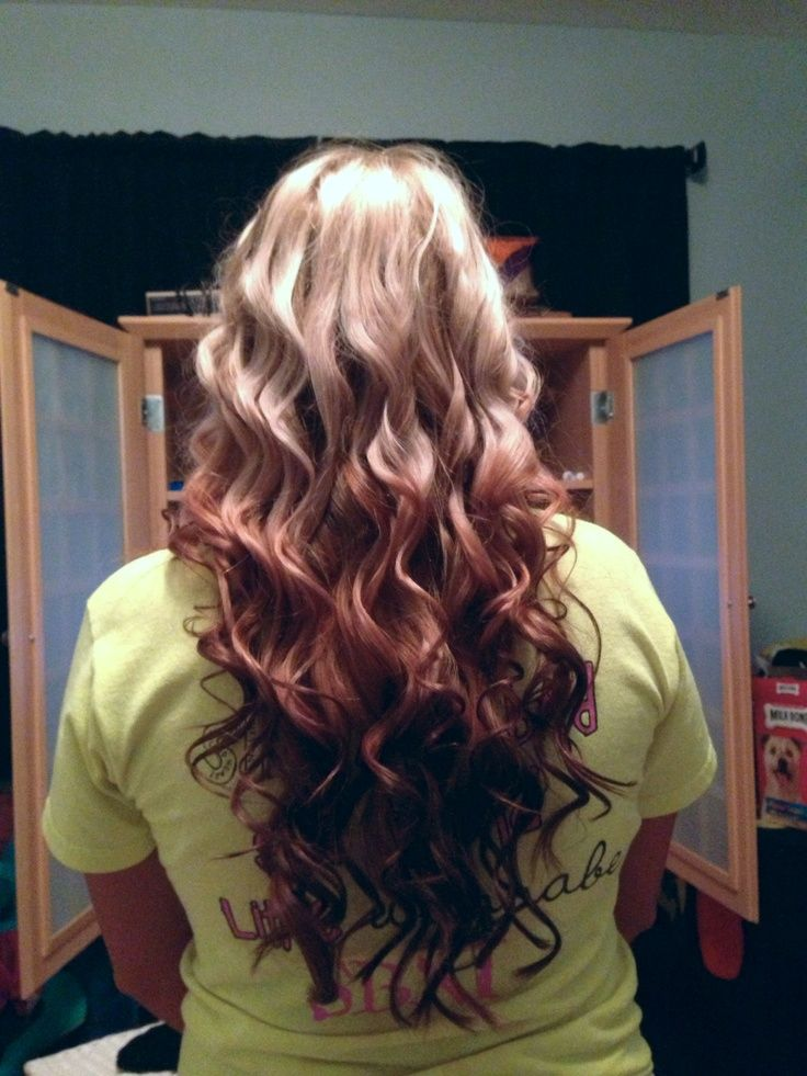 Reverse ombre with ext...