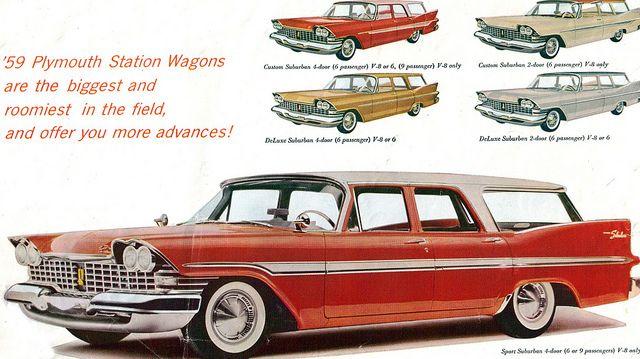 '59 vintage station wagons