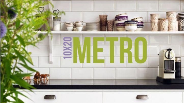 Brick/ Metro Tiles...A staple for any kitchen...