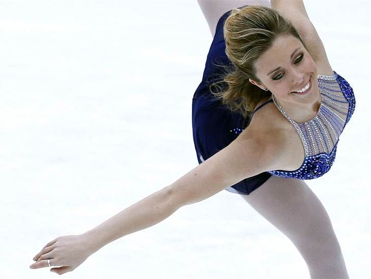 Find out what Olympic figure skater Ashley Wagner does for a great workout.