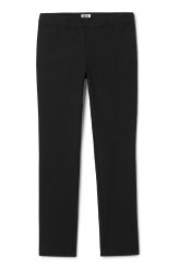 <p>The Rond Trousers are a pair of tight-fitted trousers with a clean finish. They have a zip closure at one side and two welt pockets at back.</p><p>- Size 38 measure 76,50 cm in waist circumference and 75 cm inseam.</p>