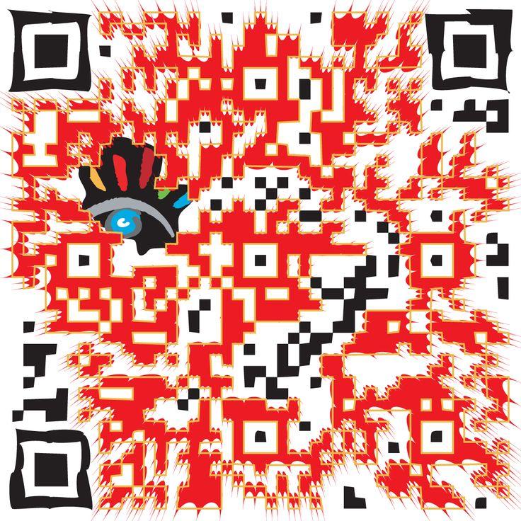 """Wat is een QR code. Een QR-Code is tweedimensionale barcode, die snel en eenvoudig ingescand kan worden met een fotocamera van bijna iedere moderne mobiele telefoon. De letters QR zijn een afkorting van Quick Response (""""snelle reactie""""). De QR-code werd ontwikkeld om snel decodeerbaar te zijn, het wordt toegepast in tijdschriften, op bushaltes en op visitekaartjes etc.  http://markrademaker.nl/portfolio_grafische_vormgeving.htm"""