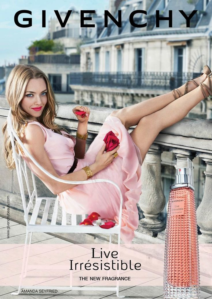 Amanda Seyfried for Givenchy Live Irrésistible Eau de Parfum