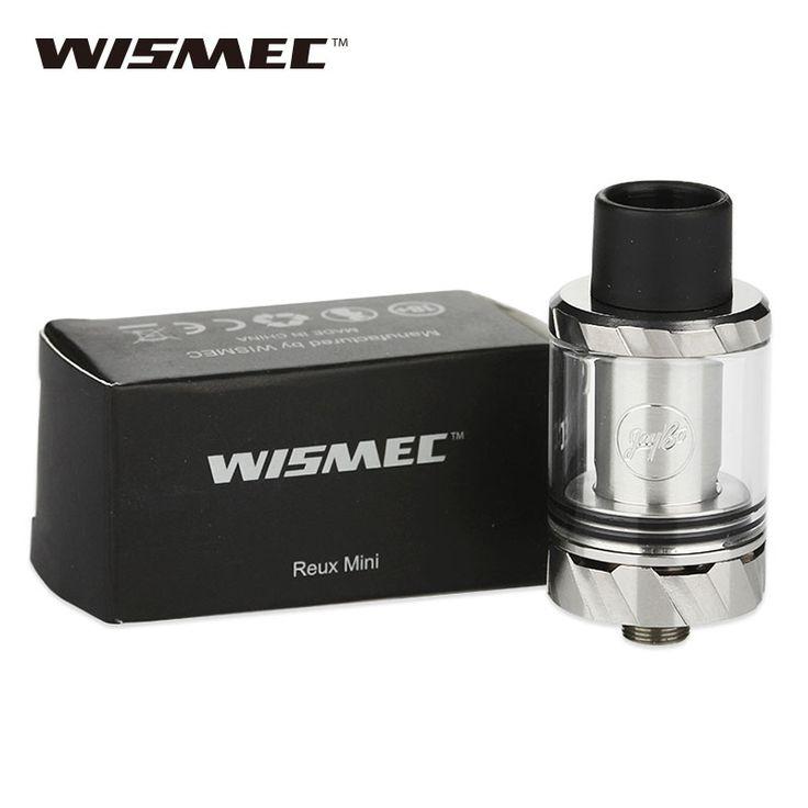New Original WISMEC Reux Mini Atomizer 2ml Tank without Atomizer Core Top Filling for Reux Mod Electronic Cigarette Reux Mini #Affiliate