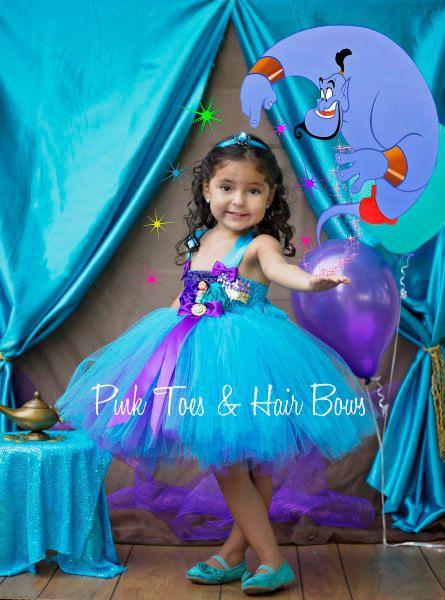 Princess Jasmine Dress Princess jasmine costume by GlitterMeBaby