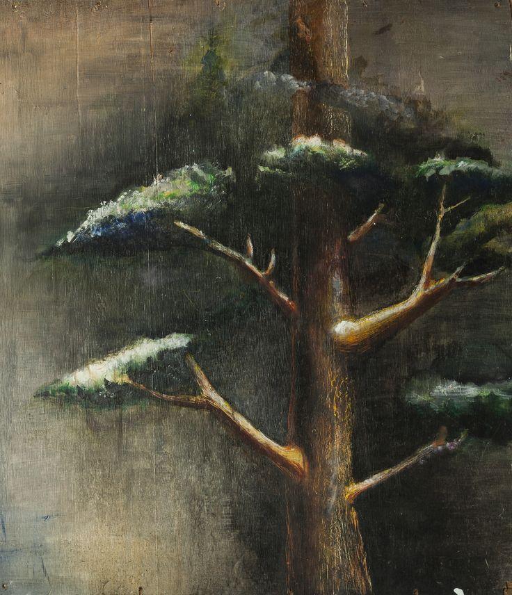 Tree Oil on Board