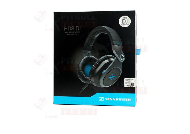 Sennheiser HD8 DJ Closed Design On-ear DJ Headphones MINT