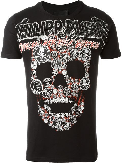 "Comprar Philipp Plein camiseta ""Soloman"" en Boutique Antonia from the world's best independent boutiques at farfetch.com. Descubre 400 boutiques en 1 sola dirección."