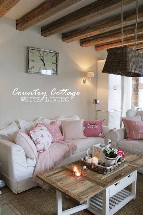 White Living: Country Cottage - Spring Shopping