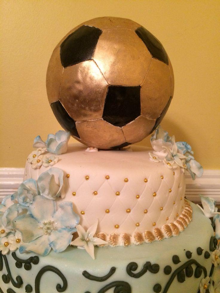 Soccer Ball 15 th Birthday Cake