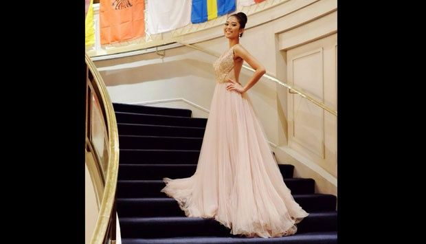 Aksi Miss Indonesia Maria Asteria di Miss World