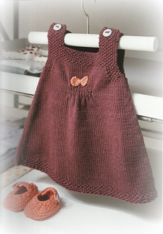 Steek voor steek: Babykleertjes breien
