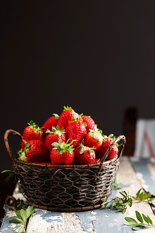 Strawberries by Raquel Carmona