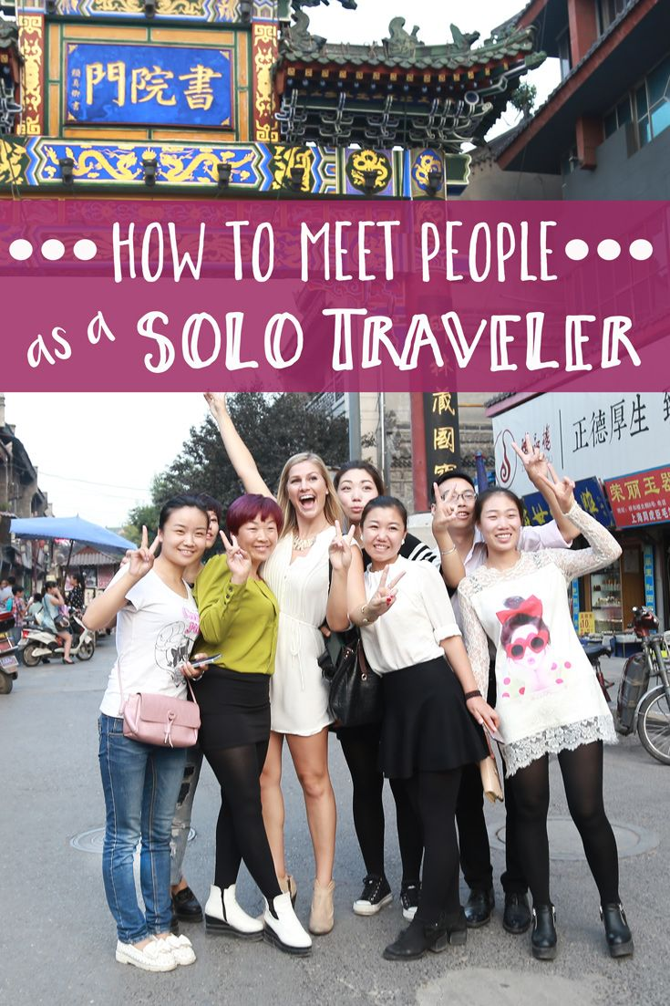 Traveling solo is one of the best ways learn about yourself, but also to meet like-minded travelers. People are open-minded and curious, and often gung-ho to have new and thrilling experiences. However, it can also be a challenge to findfellow adventurers at first. Here are my
