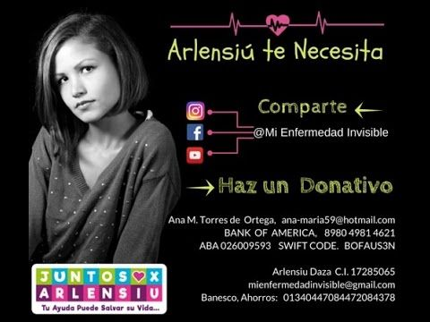 Arlensiú - Mi enfermedad invisible